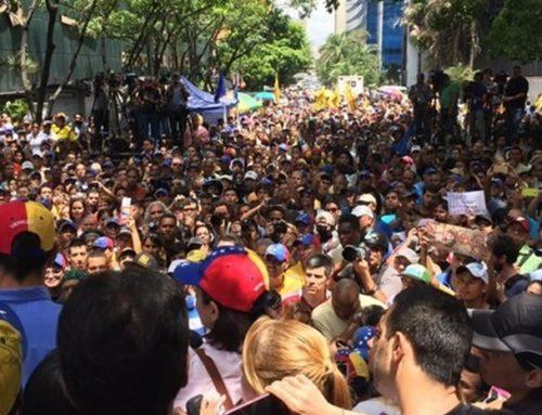 #25M en Caracas: Una crónica más de otro día de agonía