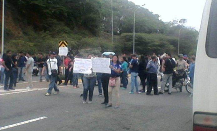 Protesta-maiquetia