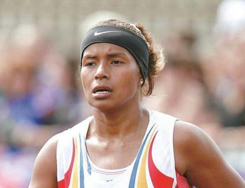 Yolimar Pineda finalizó en el puesto 93 en el maratón de 42km
