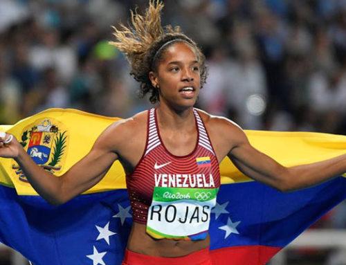 Yulimar Rojas gana medalla de plata para Venezuela en salto triple