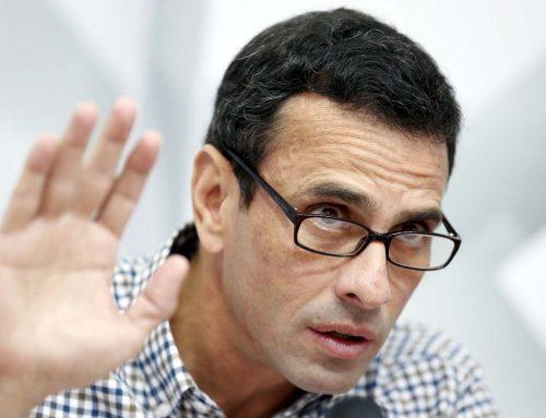 """Capriles: """"La Toma de Venezuela va el miércoles, no se descarta ir a Miraflores"""""""