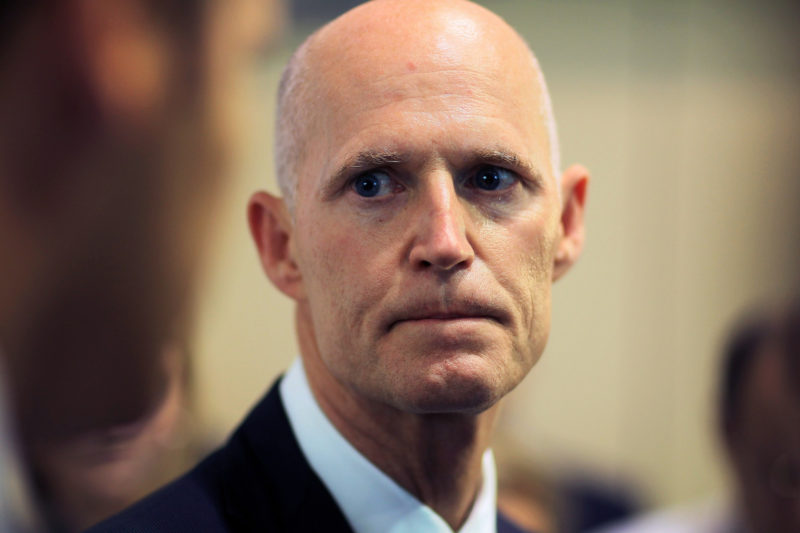 Florida Gov. Rick Scott Attends Hurricane Conference