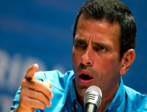 Capriles: La soledad de las calles en sintonía con la soledad de la cúpula corrupta del Psuv