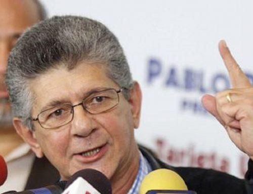 Ramos Allup anunció que próxima semana solicitarán a la OEA activación de Carta Democrática