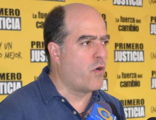 """Julio Borges: """"Hoy inicia el  juicio político a Nicolás Maduro"""""""