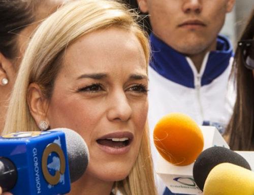 Lilian Tintori denunció en la Fiscalía presunta tortura contra Leopoldo López en Ramo Verde