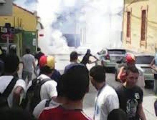 Polimérida reprimió manifestantes que asistieron a la Toma de Venezuela
