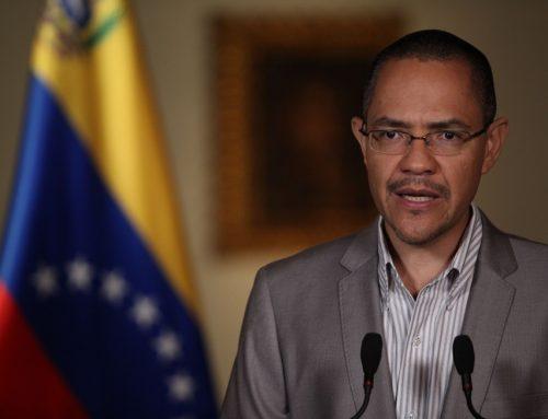 Villegas: Los venezolanos no respondieron al llamado de paro nacional