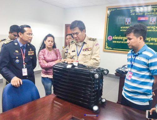 Detenida en Camboya venezolana con 1,39 kg de cocaína