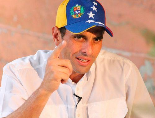 """Capriles: """"Alcabalas van en proporción al miedo que Maduro le tiene al Pueblo"""""""