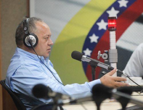 """Cabello: """"La oposición venezolana no tiene capacidad para hacer un golpe parlamentario"""""""