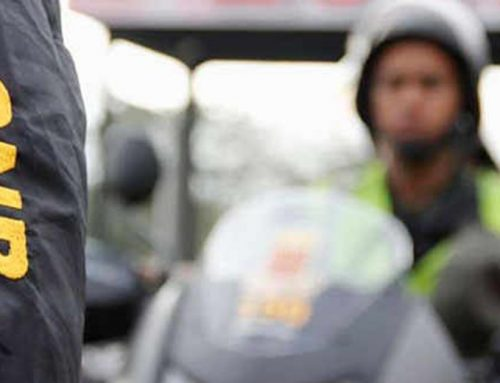 Fuerte presencia policial en los alrededores de la autopista Francisco Fajardo durante la Toma de Venezuela