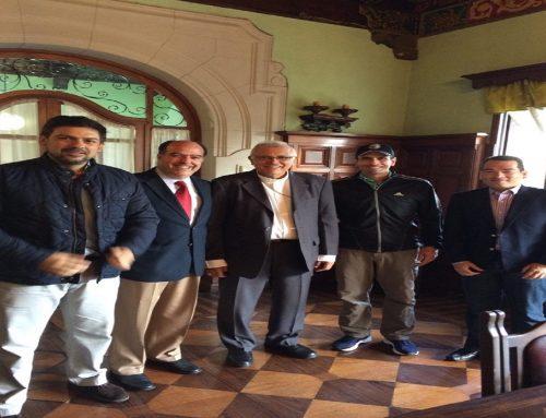 Dirigencia de Primero Justicia se reunió con el Cardenal Baltazar Porras