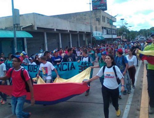 Así se vive la Toma de Venezuela en diferentes lugares del país