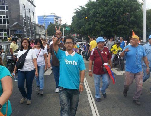 Vargas dijo presente en la Toma de Venezuela pese a las adversidades