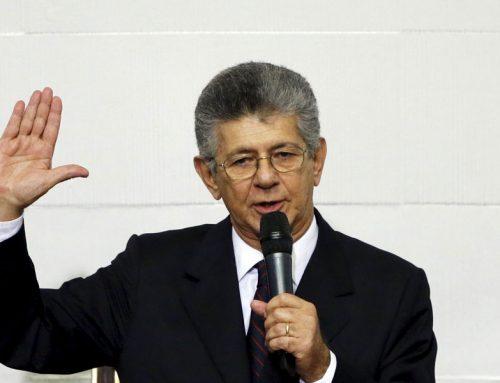 Ramos Allup no está de acuerdo con militares en la mesa de diálogo