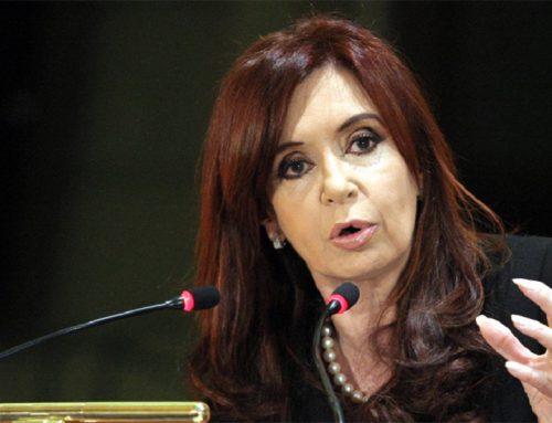 Gobierno argentino suspendió jubilación a Cristina Fernández