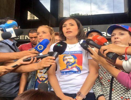 Patricia de Ceballos: Daniel tiene 24 días de aislamiento, sin visita familiar ni de abogados