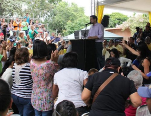 Ocariz: Del 30N al 4D los venezolanos demostrarán que quieren votar