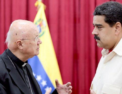 Enviado del Vaticano: La situación en Venezuela está muy fea
