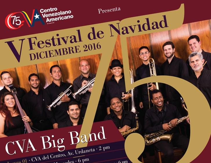 Inicia V Festival de navidad del Centro Venezolano Americano
