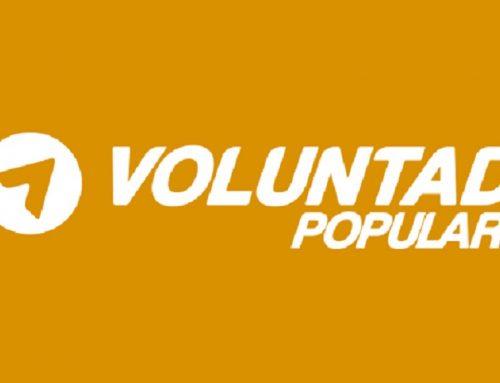 Gaby Arellano denunció agresión a coordinador de Voluntad Popular