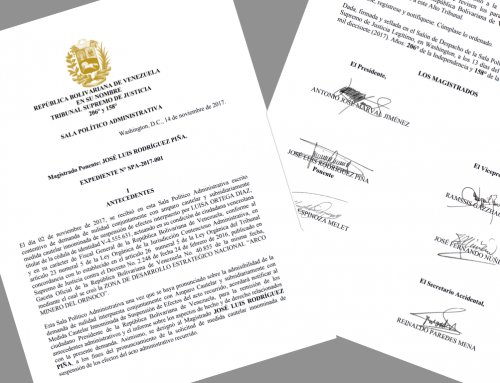 TSJ Legítimo anula creación del Arco Minero del Orinoco en Venezuela